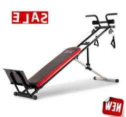 WORKOUT BENCH Folding Adjustable Strength Incline Fitness To