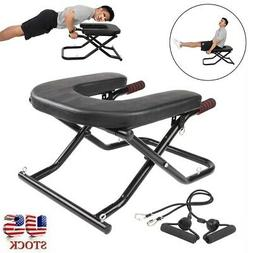 Workout Bench Yoga Inversion Chair Headstand Exercise Fitnes