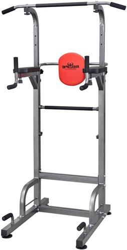 Fitness Power Tower Workout Dip Station for Home Gym Strengt