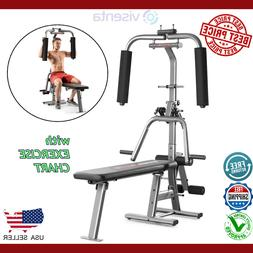 WORKOUT HOME GYM RESISTANCE WEIGHT BENCH PRESS BUTTERFLY FRO