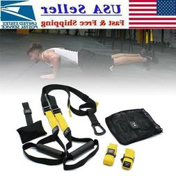 Workout Trainer Home Gym Fitness Suspension Resistance Stren