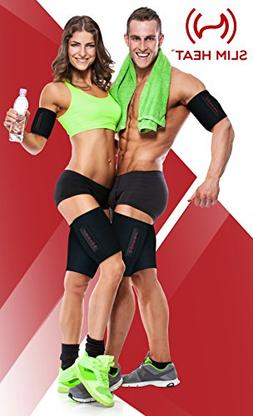 Slim Heat Body Wraps for Arms and Thighs 2-Piece Set - Conto
