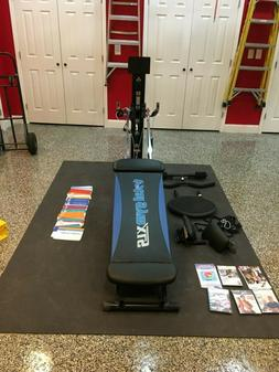 Total Gym XLS Home Gym with Accessories