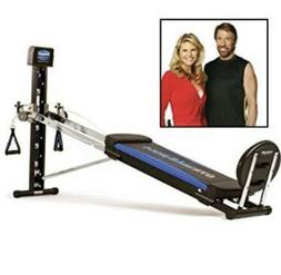 Total Gym XLS Universal Home Gym for Full Body Resistance Wo