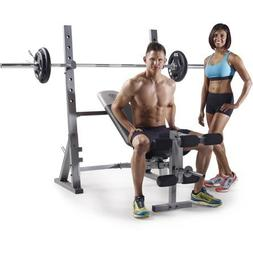 Golds Gym* XR 10.1 Olympic Weight Bench Accommodates Olympic