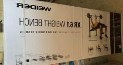 Weider XR 6.1 Multi-Position Weight Bench With Leg Developer
