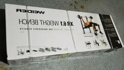 Weider  XR 6.1 Multi-Position Weight Bench with Leg Develope