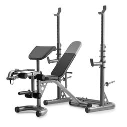 Weider XRS 20 Adjustable Olympic Workout Bench with Independ
