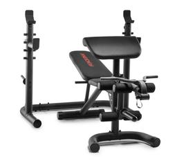 XRS 20 Weider & Gold's Gym | Olympic Workout Bench + Squat R