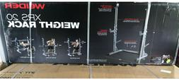 Weider XRS 20 Olympic Squat Rack with Adjustable Saftey Spot