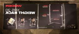 Weider XRS 20 Olympic Squat Weight Rack/Bench Press Stand Sp