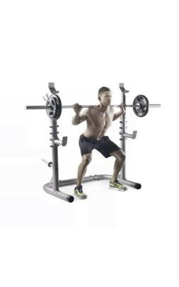 XRS 20 Olympic Weight Squat Rack by Weider & Gold's Gym