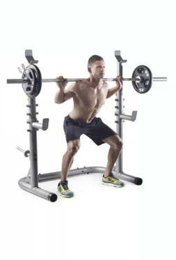 Weider XRS 20 Olympic Weight Workout Adjustable Squat Rack /
