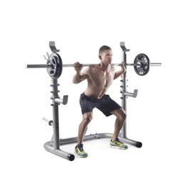 Weider XRS 20 Squat Rack Weight Lifting Leg Press Exercise W