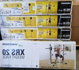 Weider XRS20 Weight Lifting Rack for Squats + many other exe