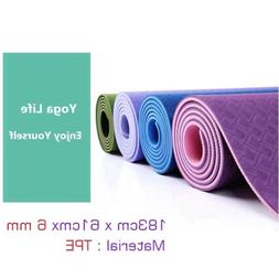 Yoga Mat Tasteless Thick Foam For Home Exercise Gym Workout